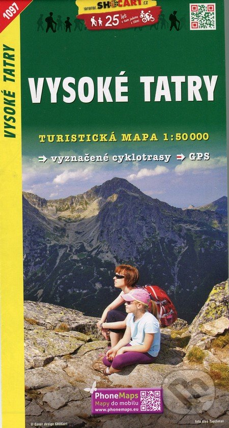 Vysoké Tatry 1:50 000 -