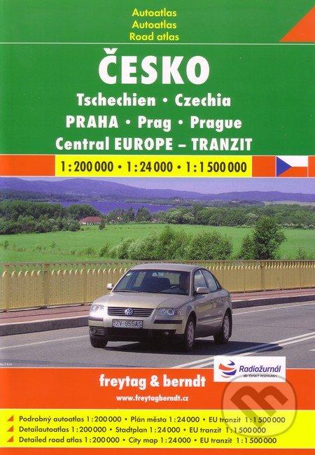 Česko, Praha 1:200 000 1:24 000 1:1 500 000 -
