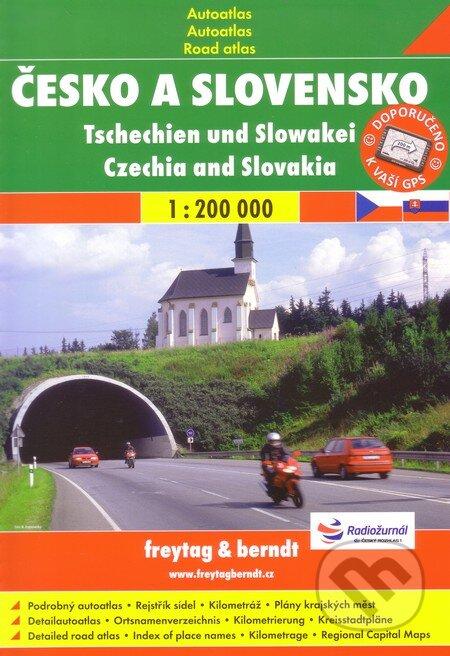 Česko a Slovensko 1: 200 000 -