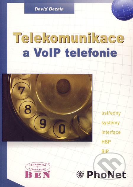 Telekomunikace a VoIP telefonie - David Bazala
