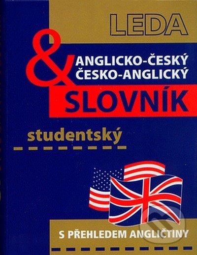 Anglicko-český a česko-anglický studentský slovník - Břetislav Hodek