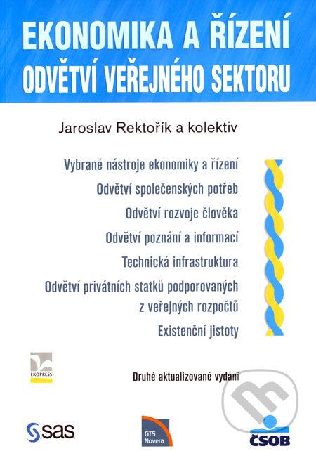 Ekonomika a řízení - Jaroslav Rektořík a kolektív