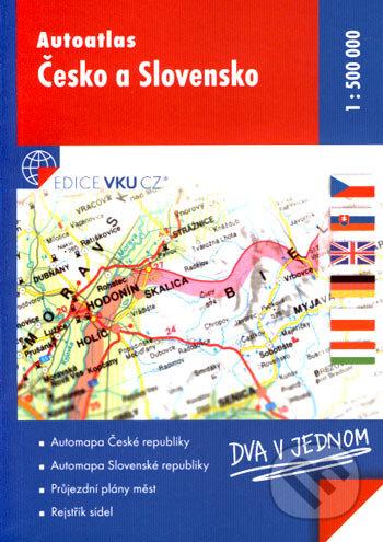 Autoatlas - Česko a Slovensko (1:500 000) -
