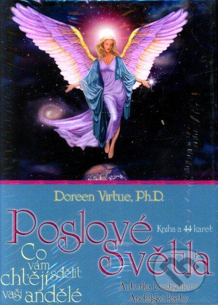 Poslové světla - Kniha a 44 karet - Doreen Virtue