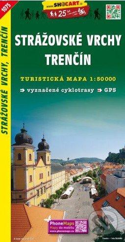 Strážovské vrchy, Trenčín 1:50 000 -
