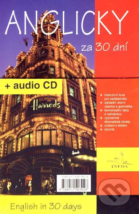 Anglicky za 30 dní + audio CD - Joshi Pankaj, Pavlína Šamalíková