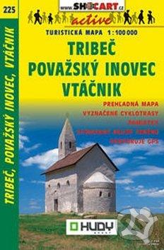 Tribeč, Považský Inovec, Vtáčnik 1:100 000 -