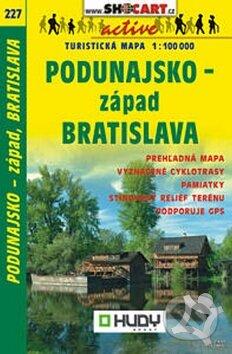 Podunajsko - západ, Bratislava 1:100 000 -