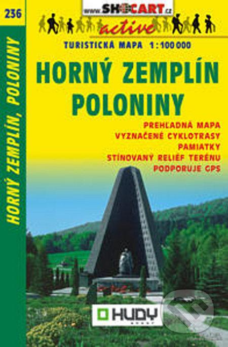 Horný Zemplín, Poloniny 1:100 000 -