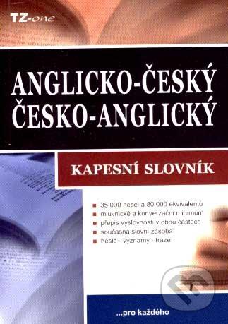 Anglicko-český a česko-anglický kapesný slovník -