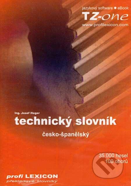 Technický slovník česko-španělský na CD - Josef Heger
