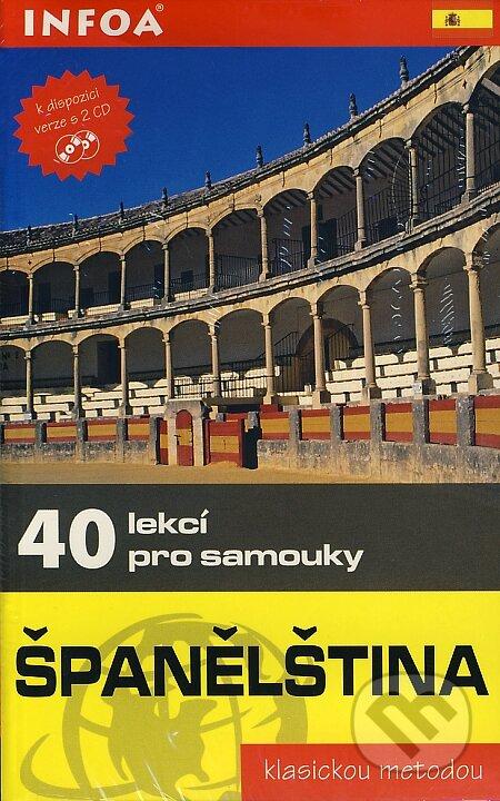 Španělština - 40 lekcí pro samouky + 2 CD - Pierre Gerboin, Jean Chapron