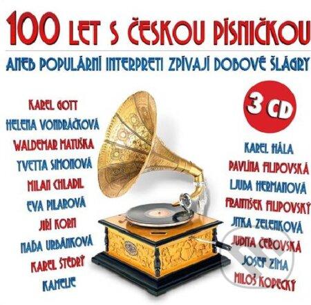 Hlavní strana Hudba Česká tvorba Pop / Rock 100 let s českou písničkou aneb populární interpreti 100 let s českou písničkou aneb populární interpreti -