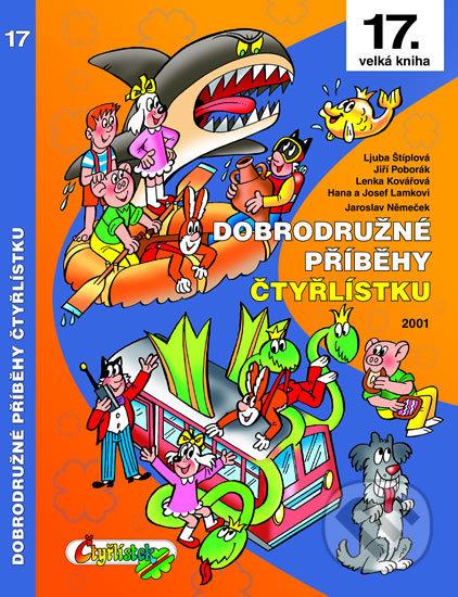 Dobrodružné příběhy Čtyřlístku - Kolektiv autorů