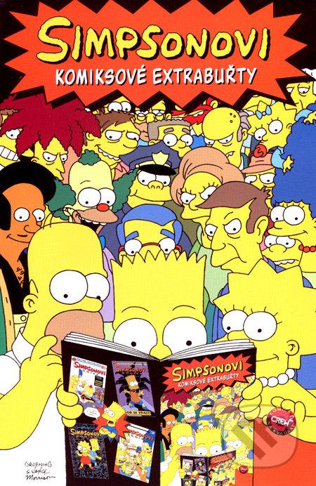Simpsonovi: Komiksové extrabuřty -