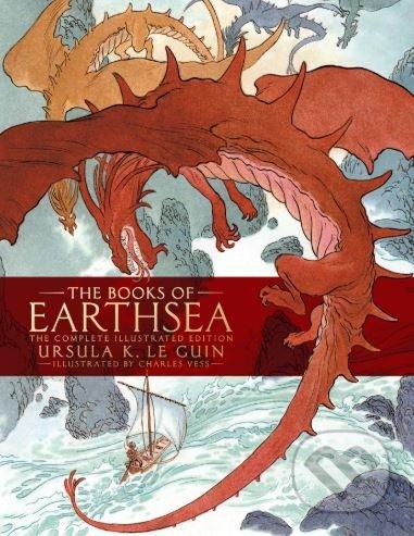 The Books of Earthsea - Ursula K. Le Guin, Charles Vess (ilustrácie)