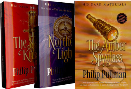 Northern Lights, The Subtle Knife, The Amber Spyglass (komplet) - Philip Pullman