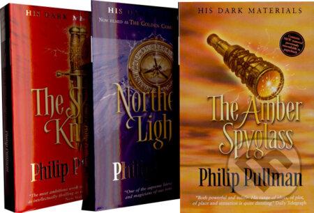 Northern Lights, The Subtle Knife, The Amber Spyglass (komplet) - Philip Pullman
