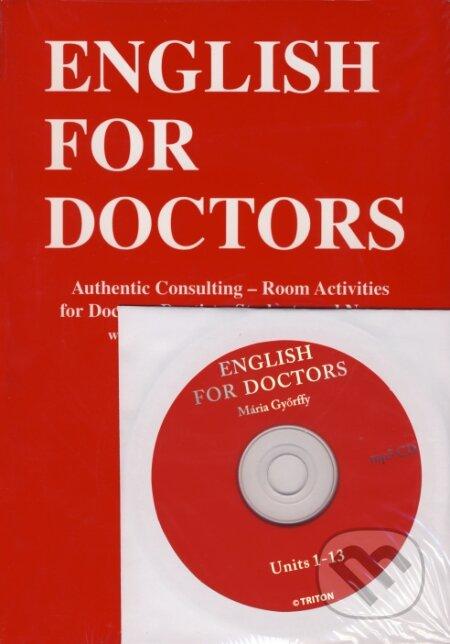English for doctors + CD - Mária Györffy
