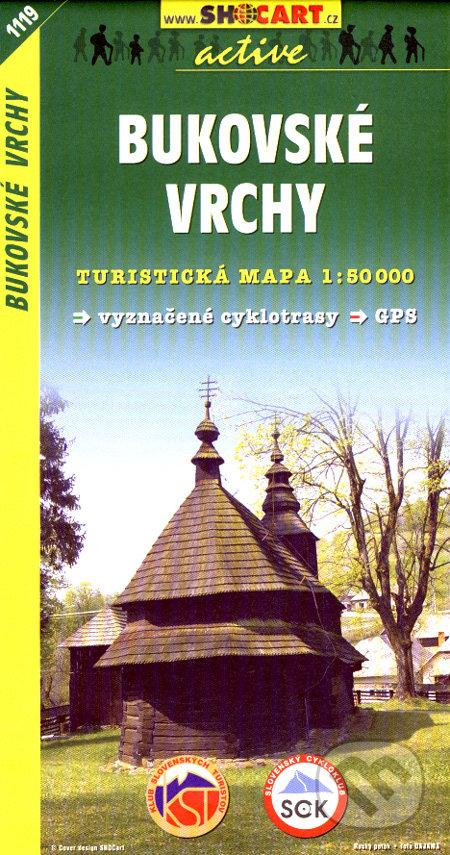 Bukovské vrchy 1:50 000 -