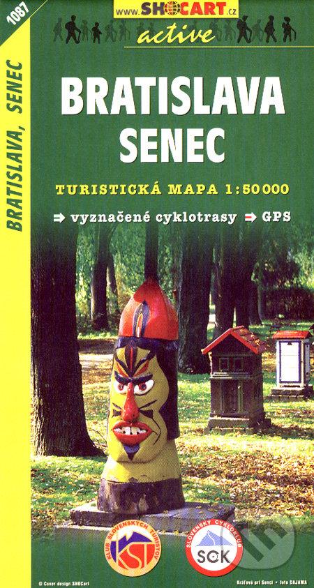 Bratislava, Senec 1:50 000 -