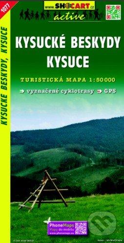 Kysucké Beskydy, Kysuce 1:50 000 -