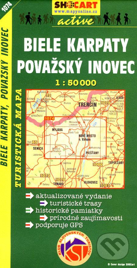 Biele Karpaty, Považský Inovec 1:50 000 -