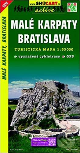 Malé Karpaty, Bratislava 1:50 000 -