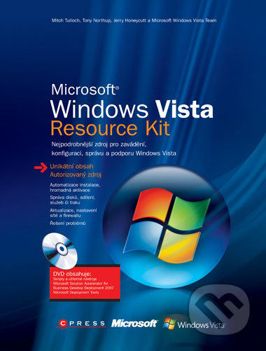Microsoft Windows Vista - Mitch Tulloch a kol.