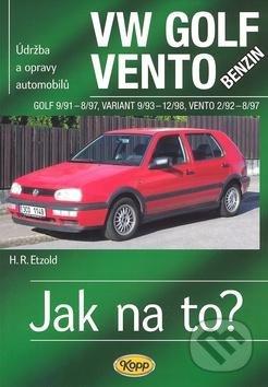 VW Golf benzin 9/91 - 8/97, Variant 9/93 - 12/98, Vento 2/92 - 8/97 - Hans-Rüdiger Etzold