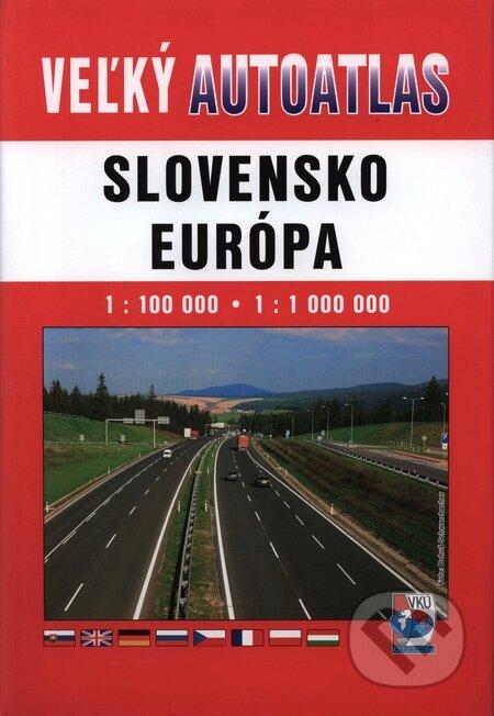 Slovensko, Európa 1:100 000, 1:1 000 000 -
