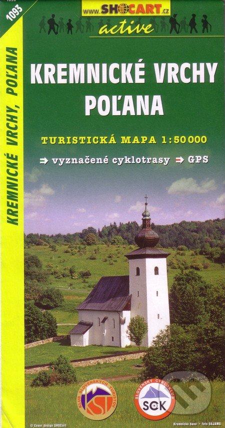 Kremnické vrchy, Poľana 1:50 000 -