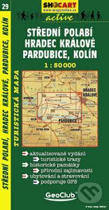 SHOCart Střední Polabí, Hradec Králové, Pardubice, Kolín 1:50 000 -