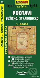 SHOCart Pootaví, Sušicko, Strakonicko 1:50 000 -