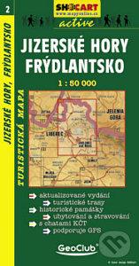 Jizerské Hory, Frýdlantsko 1:50 000 -