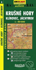 Krušné Hory, Klínovec, Jáchymov 1:50 000 -