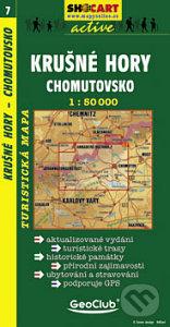 Krušné Hory, Chomutovsko 1:50 000 -