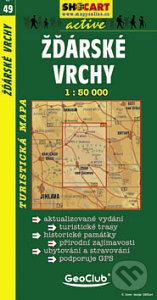 Žďárské Vrchy 1:50 000 -