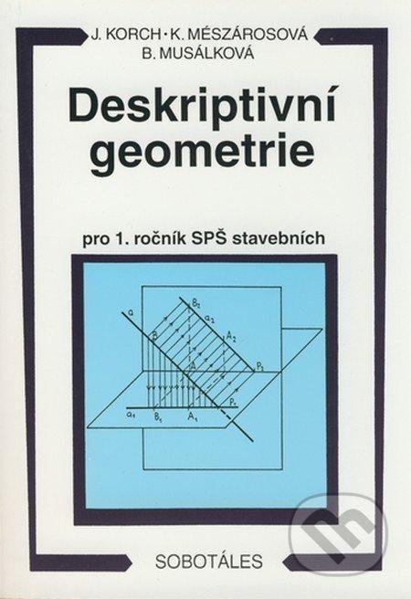 Deskriptivní geometrie pro 1. ročník SPŠ stavebních - Náhled učebnice