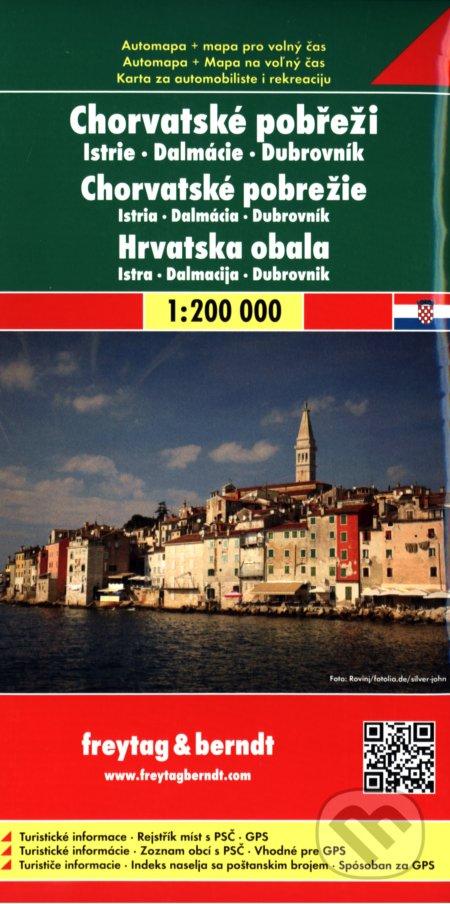 Chorvatské pobřeži 1:200 000 -