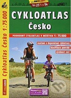 Cykloatlas - Česko 1:75 000 -