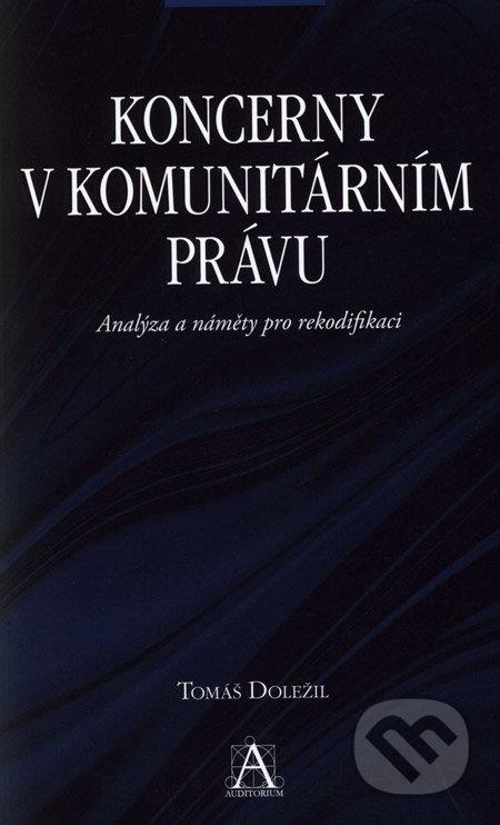 Koncerny v komunitárním právu - Tomáš Doležil