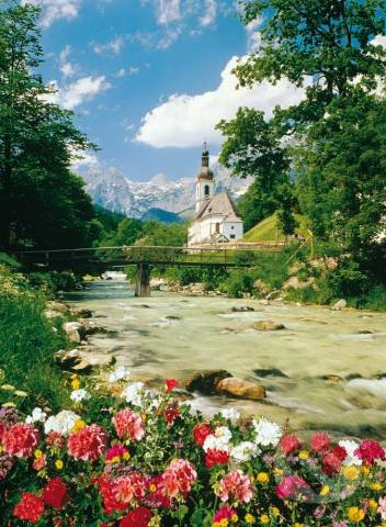 Bavorské Alpy, Nemecko -