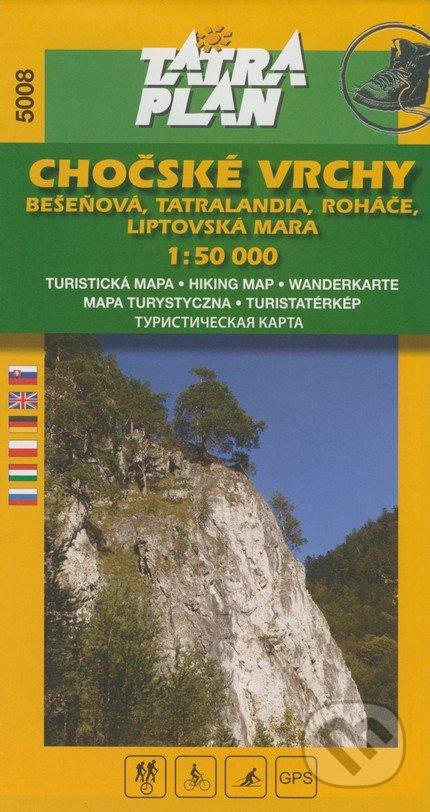 Chočské vrchy 1:50 000 -