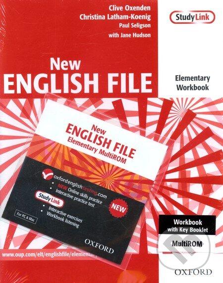 New English File - Elementary - Workbook + CD -