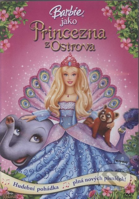 Barbie - Princezná z ostrova DVD