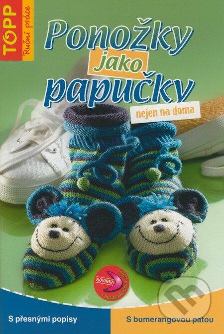 Ponožky jako papučky nejen na doma -