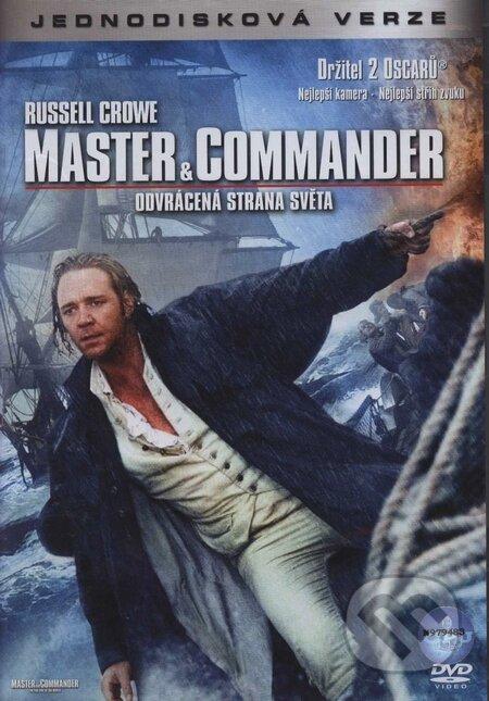 Master and Commander: Odvrátená strana sveta DVD