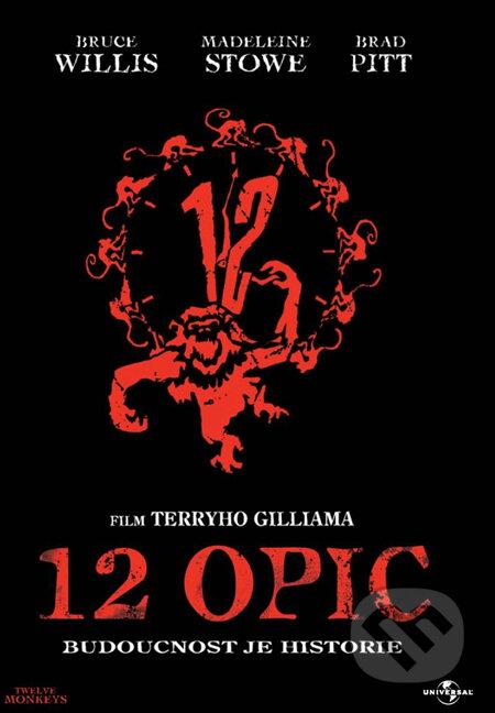 12 opíc DVD