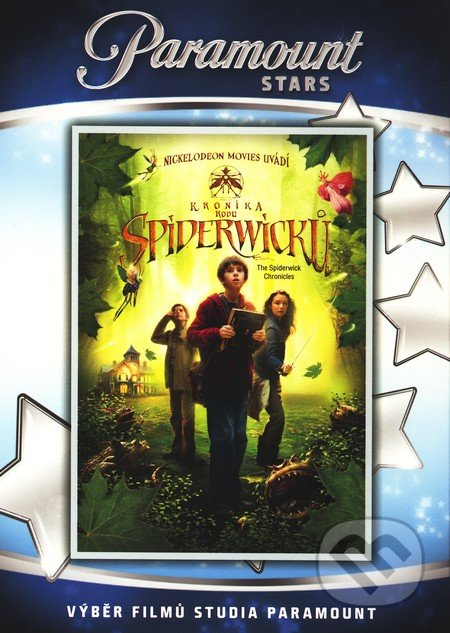 Kronika rodu Spiderwickov DVD